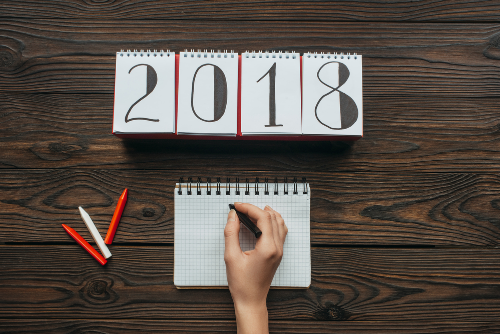 Estate and letting agents - 2018 dates for your diary